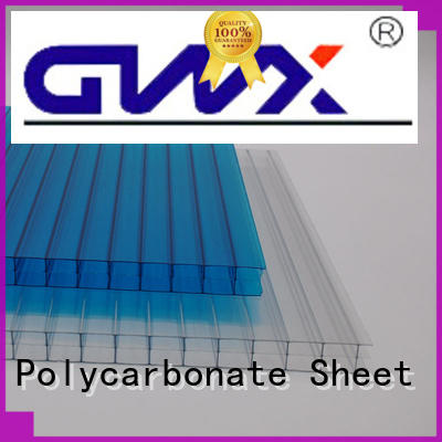 GWX high quality hollow sheet polycarbonate manufacturer for skylight