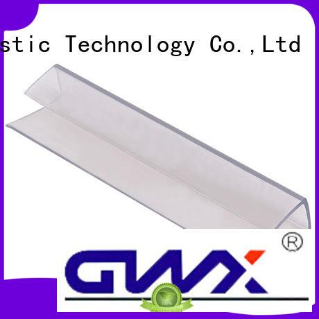 profile polycarbonate u profile plastic GWX Brand