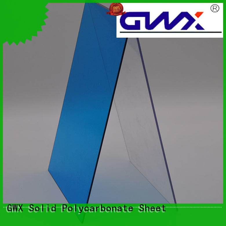 brown clear solid polycarbonate sheet supplier for roofing covering