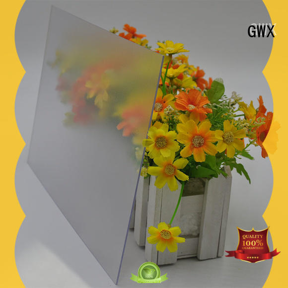 uv protective frosted plastic sheets frosted manufacturer for glazing windows