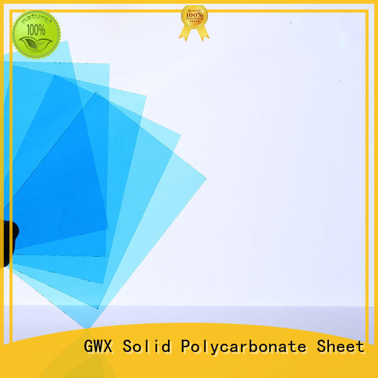 hot selling clear solid polycarbonate sheet multi wall ODM for swimming pool