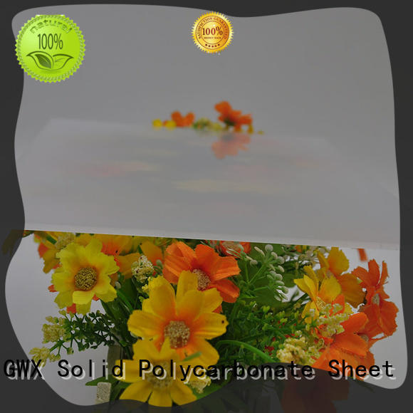 GWX hot selling light diffusion polycarbonate sheet wholesale for LED light diffusion
