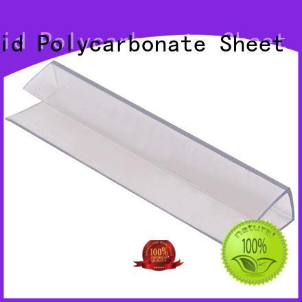 GWX durable polycarbonate h profile wholesale
