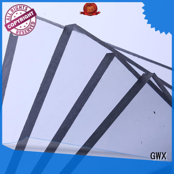 pc solid sheet multi wall for roofing covering GWX