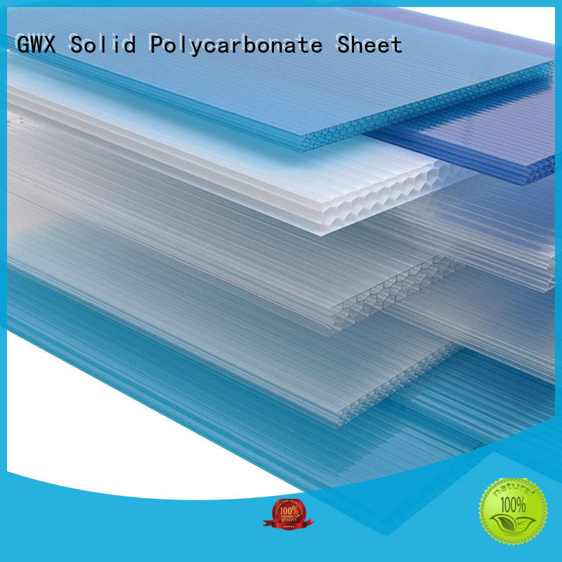 GWX cellular pc hollow sheet factory direct for balcony
