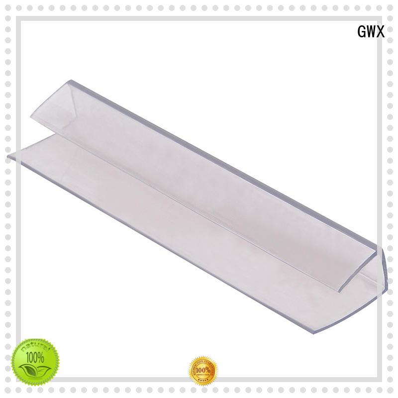 GWX waterproof plastic h channel wholesale