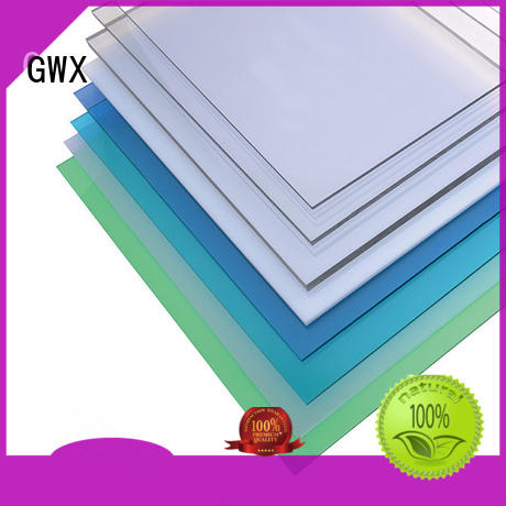 GWX packing polycarbonate hollow sheet