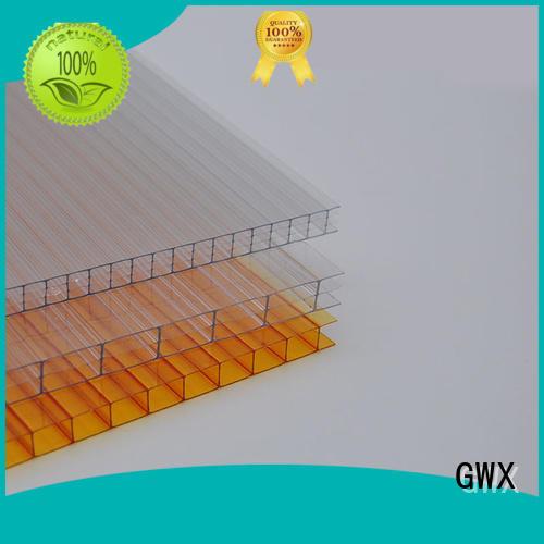 Wholesale twin cellular polycarbonate hollow sheet GWX Brand