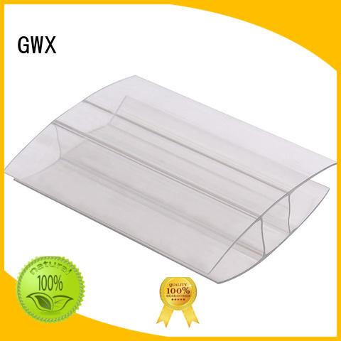 Quality GWX Brand u profile plastic clips