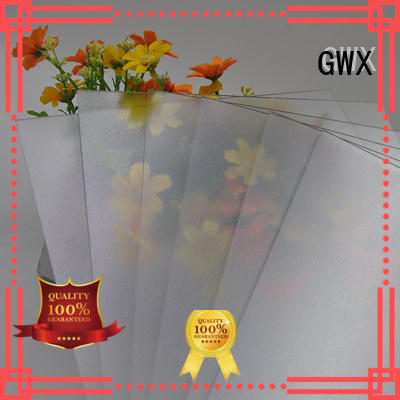 barrier surface from frosted acrylic sheet sheets GWX