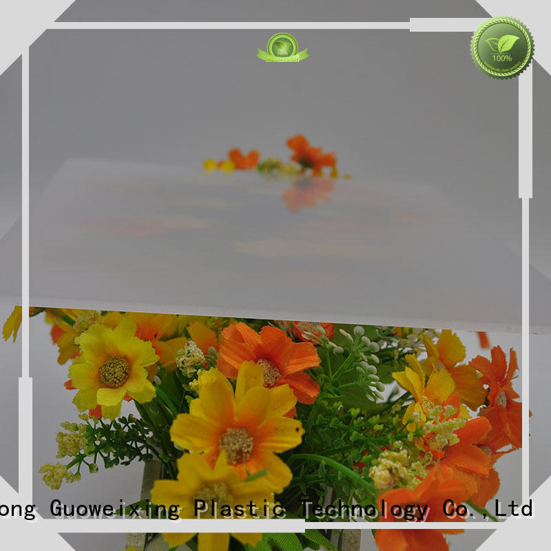 carbonate billboard polycarbonate sheet price led GWX company