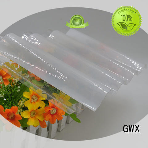 GWX round corrugated polycarbonate panels wholesale for skylight