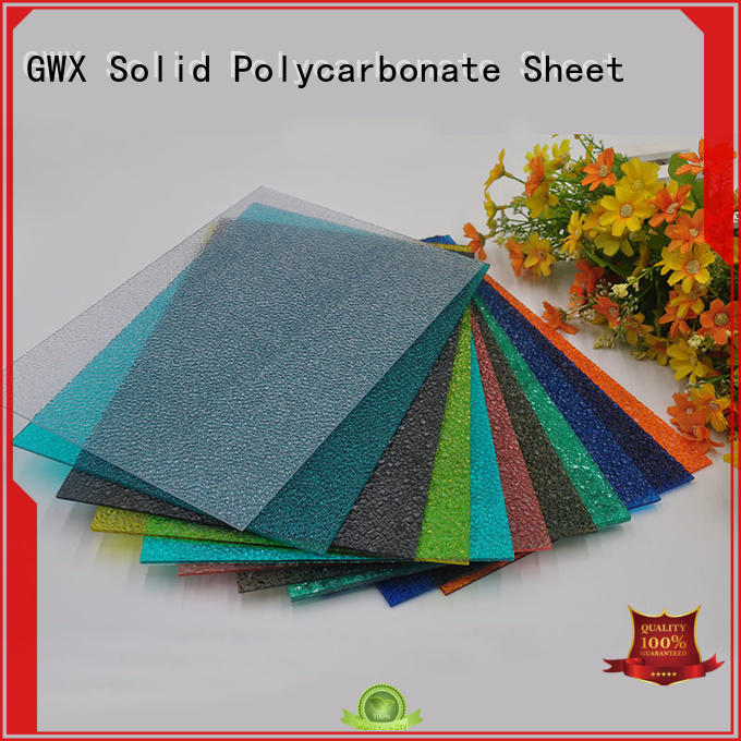 hot selling polycarbonate embossed sheet diamond tinted wholesale for skylight