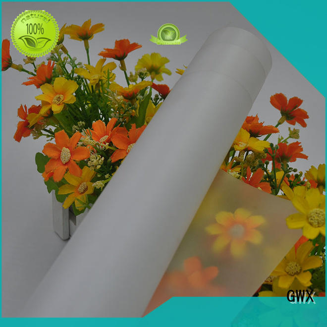 GWX soft makrofol polycarbonate film factory direct for surface