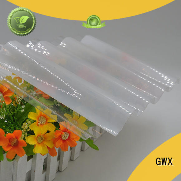GWX 100% new virgin material corrugated polycarbonate panels wholesale for corrugated roof