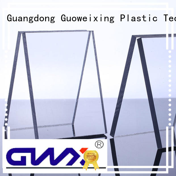 GWX Brand polycarbonate materials brown width polycarbonate solid sheet
