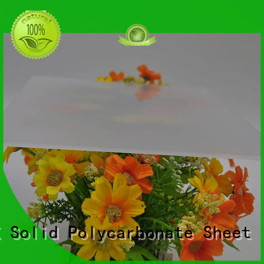 GWX soundproof polycarbonate diffuser sheet factory direct for greenhouse