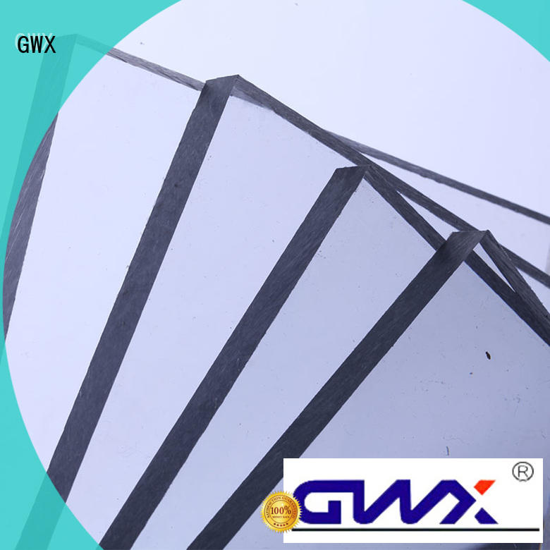 twin wall polycarbonate solid sheet ODM for swimming pool GWX