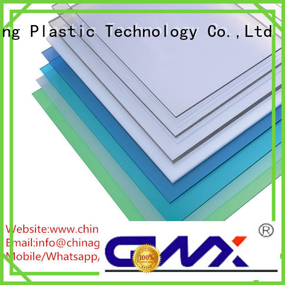 GWX Brand sheets durable packing polycarbonate solid sheet manufacture