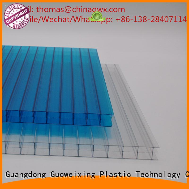 cellular swimming greenhouse hollow sheet GWX Brand