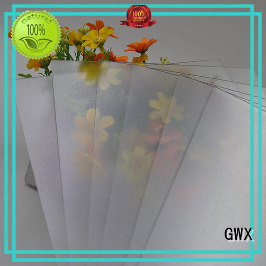 GWX Brand wall impact iso frosted polycarbonate sheet