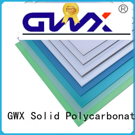 clear polycarbonate solid sheet tinted supplier for swimming pool