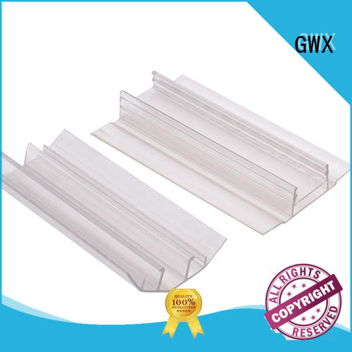 waterproof polycarbonate h channel L shape factory price for connection