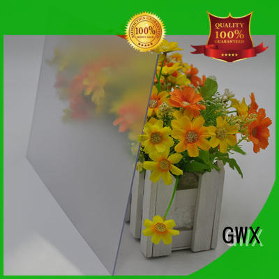 GWX uv protective frosted lexan factory direct for glazing windows