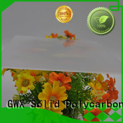 translucent light diffusion polycarbonate sheet wholesale for greenhouse GWX