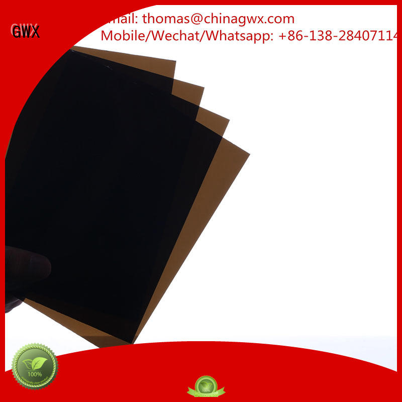 GWX Brand awning wall solid polycarbonate roofing virgin