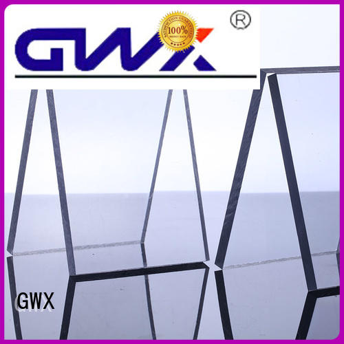 Wholesale packing sun polycarbonate solid sheet GWX Brand