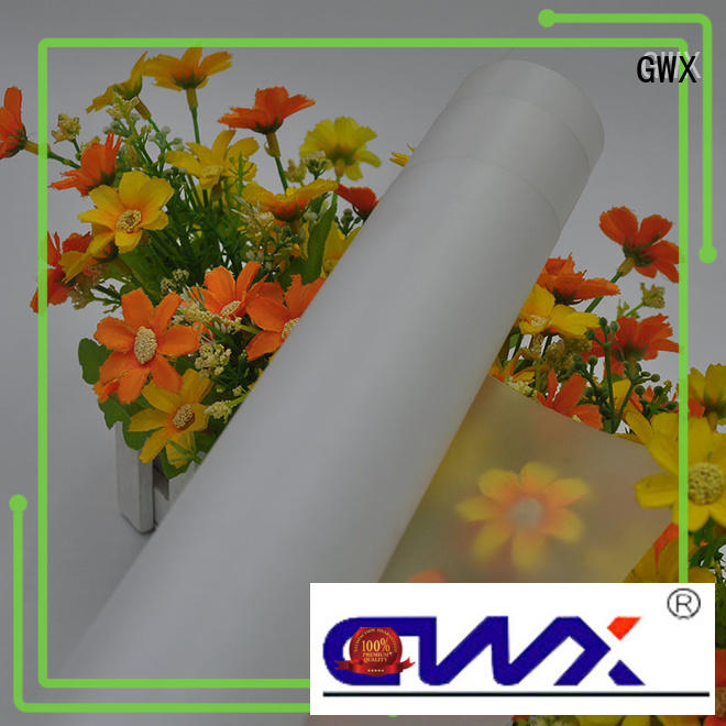 GWX soft polycarbonate film roll supplier for protection