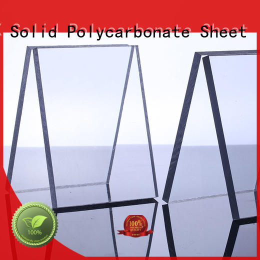 anti-scratch makrolon uv sheet lexan supplier for swimming pool