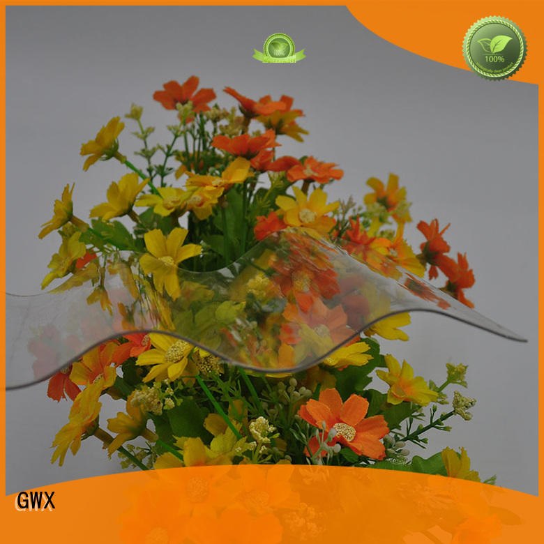 GWX UV coating polycarbonate corrugated sheet wholesale for greenhouse
