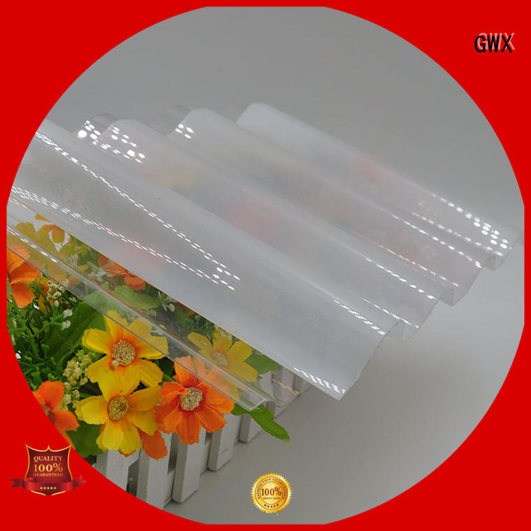 materials thickness corrugated polycarbonate roofing carbonate corrugated GWX Brand