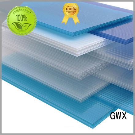 uv protective hollow core polycarbonate sheet twin wall manufacturer for swimming pool cover