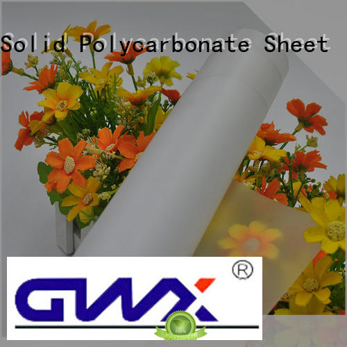 GWX healthy polycarbonate film roll manufacturer for protection