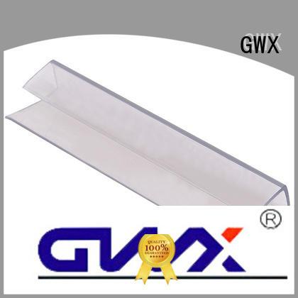 GWX Brand polycarbonte shapre u profile plastic connection supplier