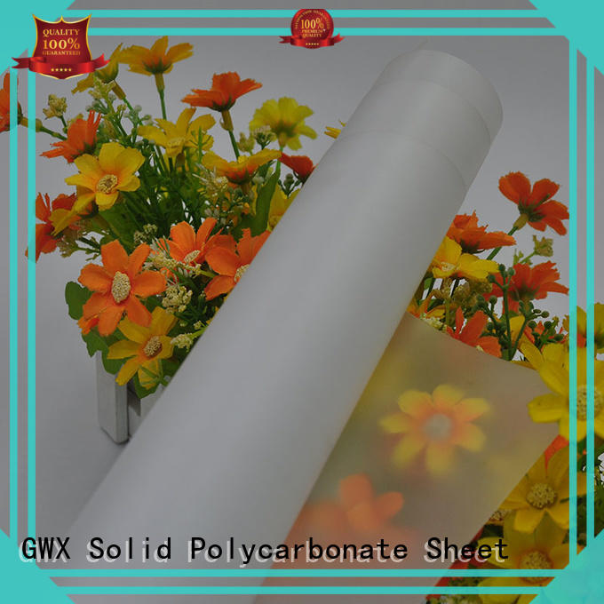 recyclable makrofol polycarbonate film 100% virgin Bayer factory direct for surface