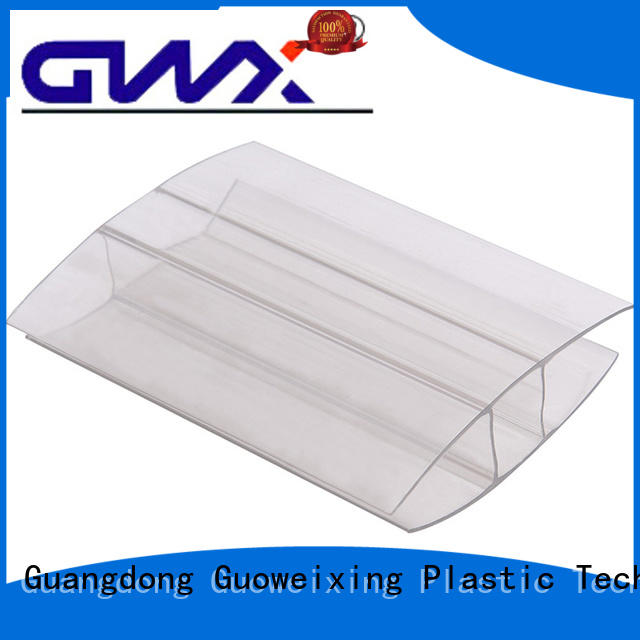 profile shapre connection GWX Brand u profile plastic factory
