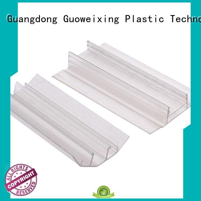 GWX Brand accessories clips shape u profile plastic
