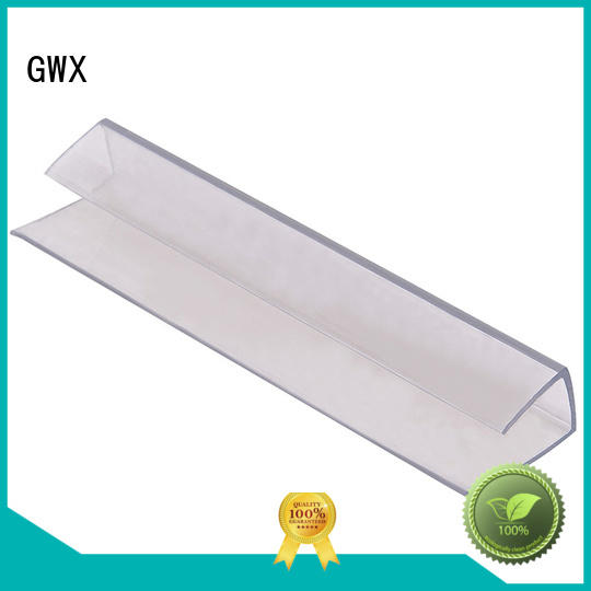 GWX Brand clips thickness polycarbonate u profile polycarbonate factory