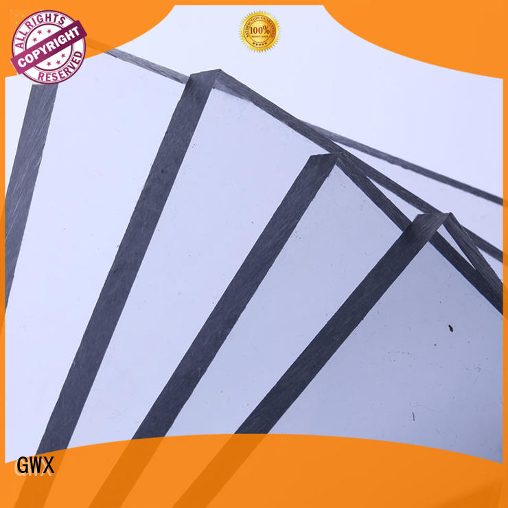 hot selling polycarbonate solid sheet brownsupplierfor skylight awning