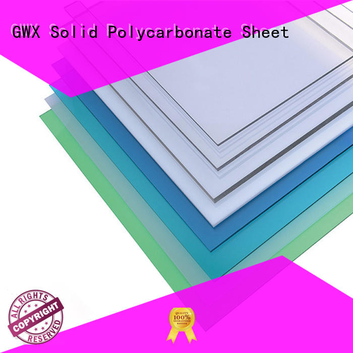 polycarbonate solid sheet sheets
