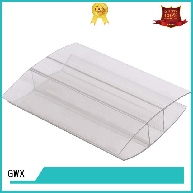 waterproofpolycarbonate u channel bayer raw materialfactory price for connection