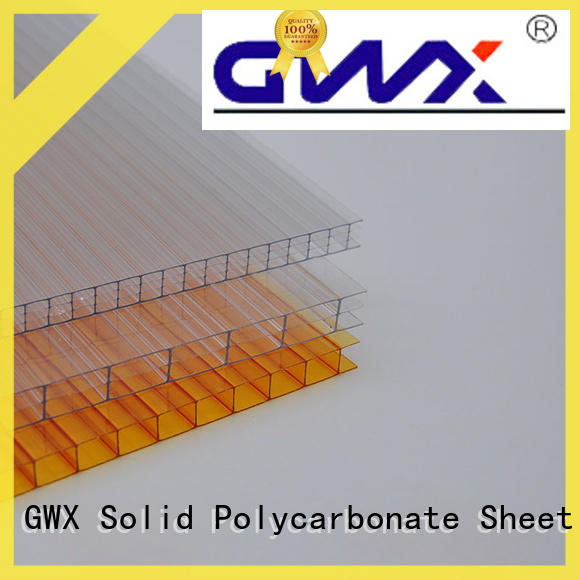 impact-resistant hollow sheet polycarbonate twin wall manufacturer for swimming pool cover