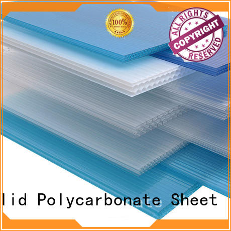 GWX uv protective polycarbonate hollow sheet supplier for carport