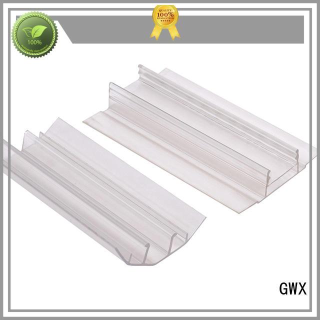 Wholesale accessories u profile plastic GWX Brand