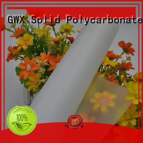 soft lexan polycarbonate film 100% virgin Bayer supplier for protection