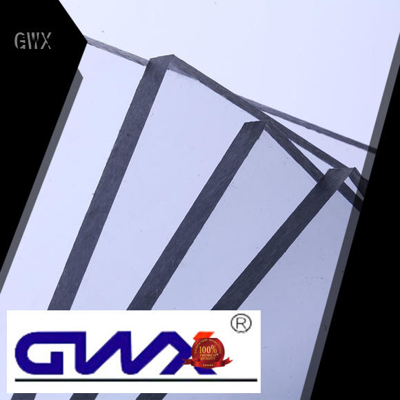 lexan awning solid polycarbonate roofing GWX manufacture